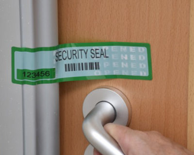 Room Security Labels