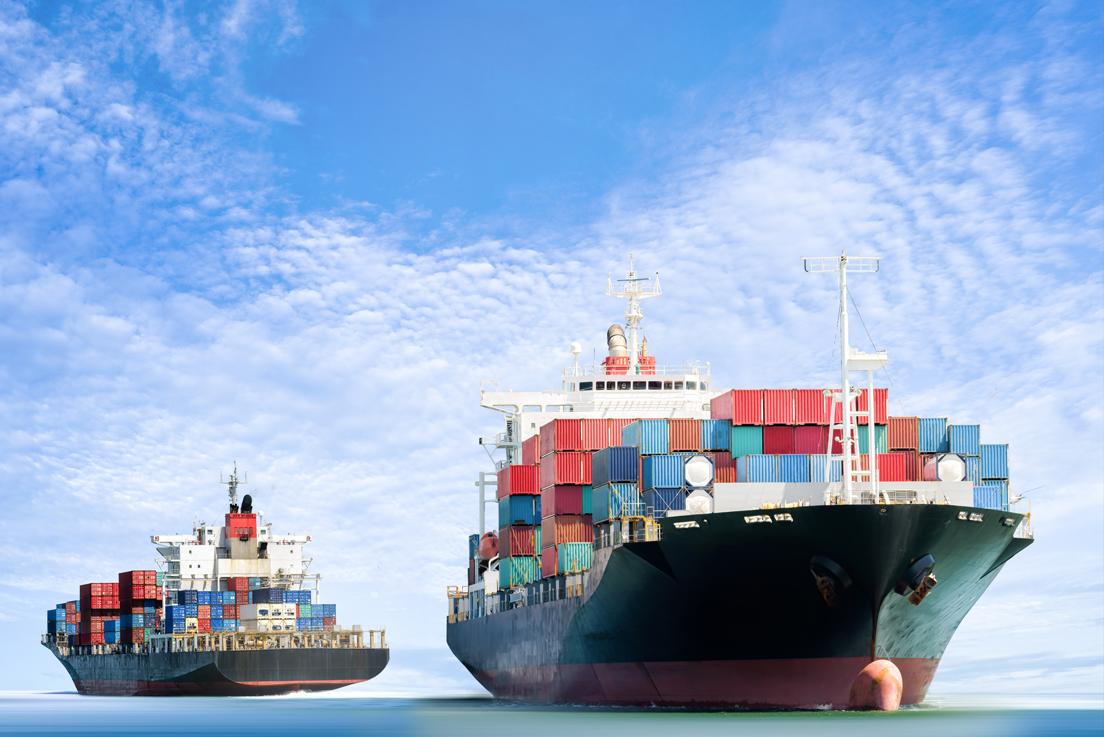 Sea Container shipping security