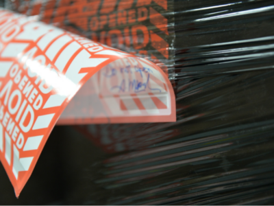 How Can One Tamper Evident Label Protect a Pallet?