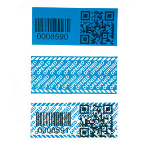 Subsurface barcode and QR code