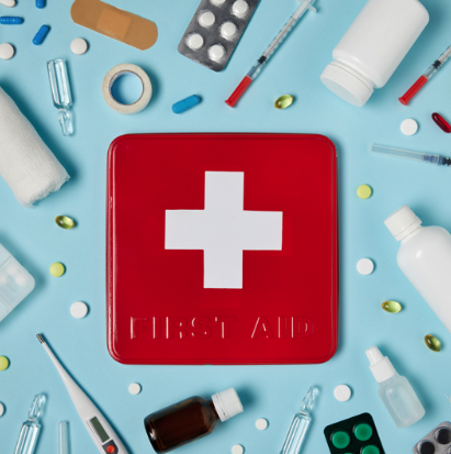 First aid for hospitals