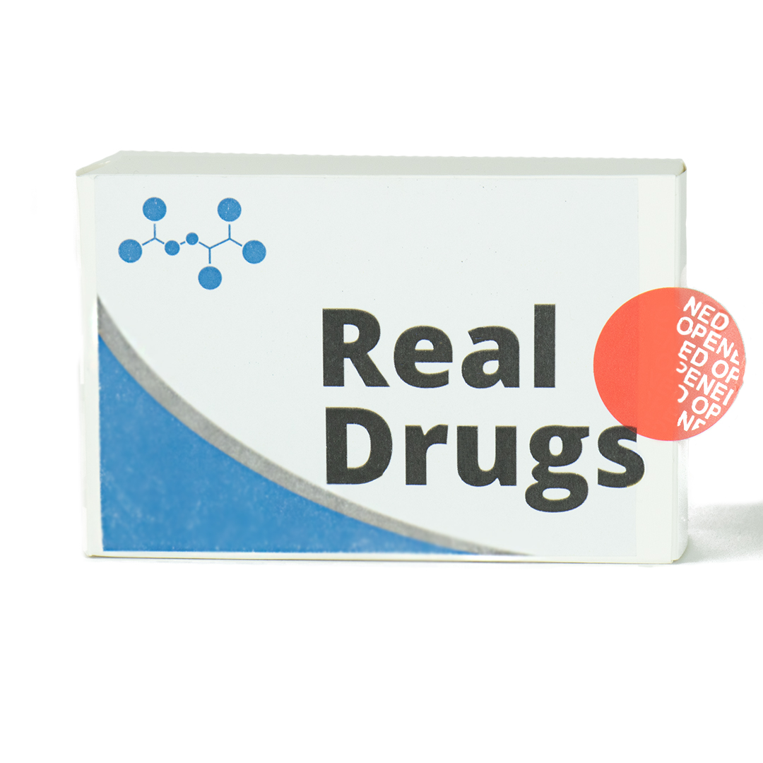 real drugs box with Tamper Evidence
