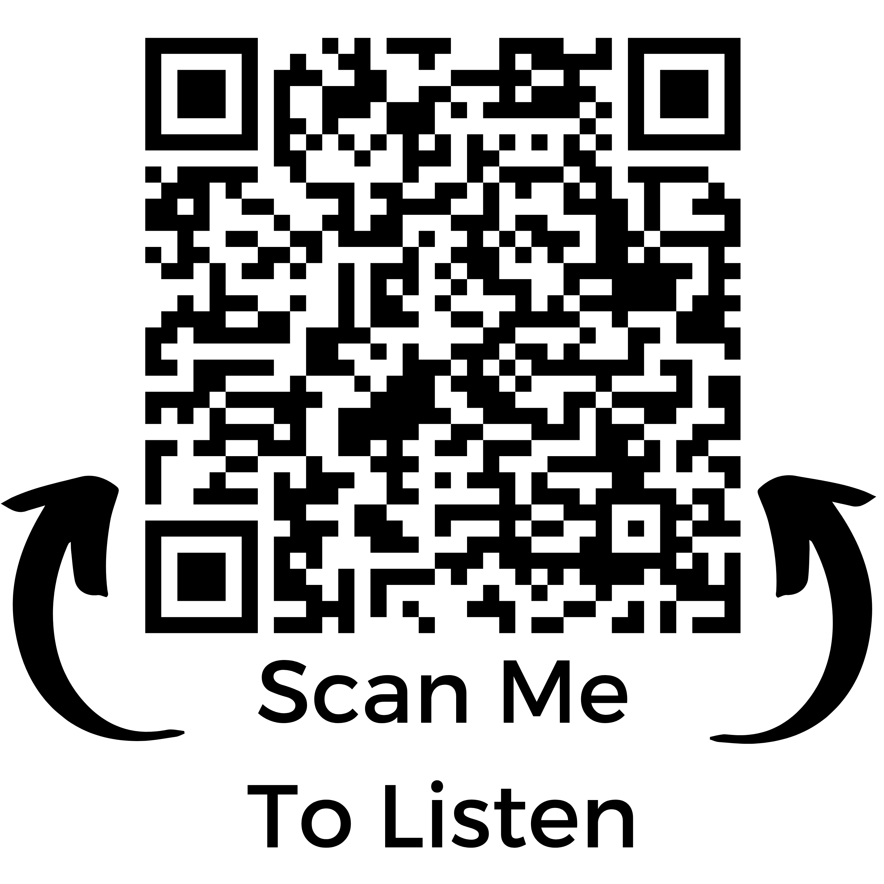 Scan Me qr code linking to tampertech Spotify